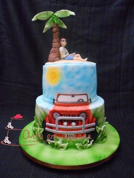 Cake Design Em Lisboa : BOLO DECORADO PRAIA 2015, Bolos Decorados e Artisticos ...
