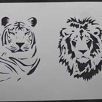 Stencil ANIMAIS SELVAGENS