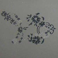 Stencil FLORAL 8
