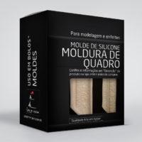 Molde silicone MOLDURA DE QUADRO
