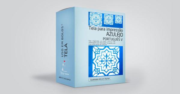 Tela AZULEJO PORTUGUÊS 5