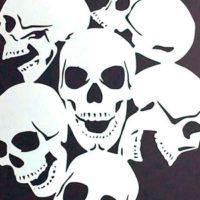 Stencil CAVEIRA 3