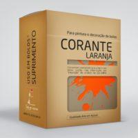 arte em acucar corante laranja cr8 box single