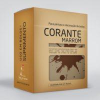 arte em acucar corante marrom cr3 box single
