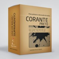 arte em acucar corante preto cr1 box single