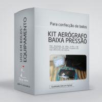arte em acucar kit aerografo baixa pressao kt3 box single