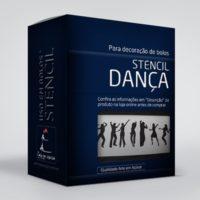 arte em acucar stencil danca st24 box single