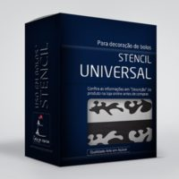 arte em acucar stencil universal st08 box single