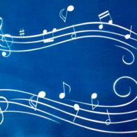 arte em acucar tela notas musicais cs107